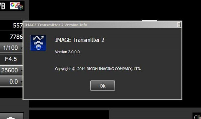 IMAGE Transmitter 2 version screen