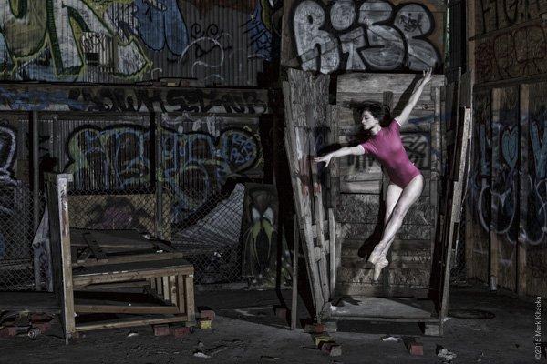 Final shot of my 'ballerina in a box' concept.