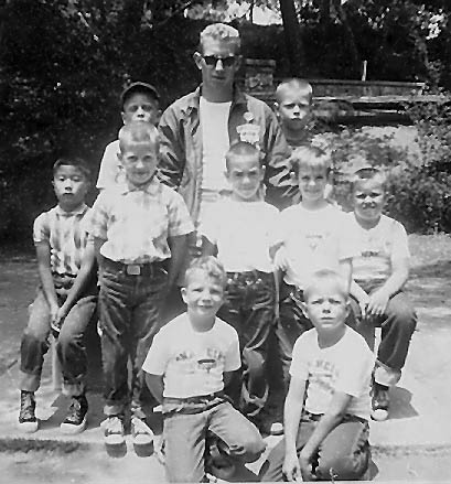 YMCA camp August 1 1962
